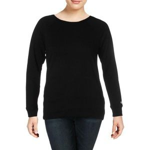 Plus Size 3X Black Champion Terry Sweatshirt